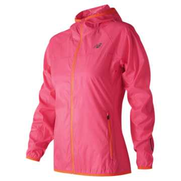New Balance Windcheater Jacket, Alpha Pink