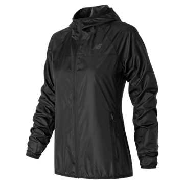 New Balance Windcheater Jacket, Black