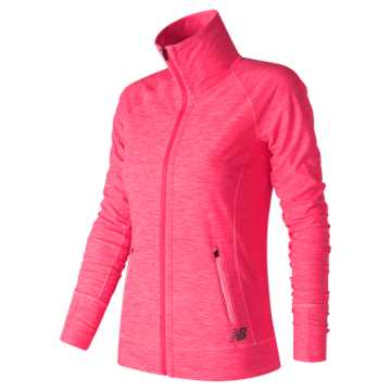 New Balance In Transit Jacket, Alpha Pink Heather