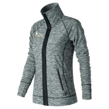 New Balance NYC Marathon Finisher In Transit Jacket, Black with White