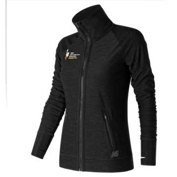 New Balance NYC Marathon Finisher In Transit Jacket, Black