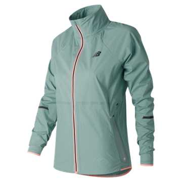 New Balance Precision Run Jacket, Storm Blue