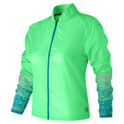 New Balance Fun Run Jacket, Agave