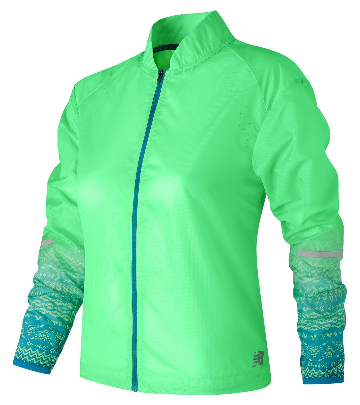 NB Fun Run Jacket, Agave