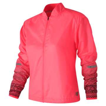 New Balance Fun Run Jacket, Alpha Pink