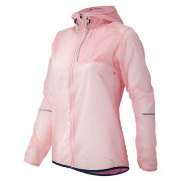 New Balance J.Crew Lightweight Jacket, Warm Pink