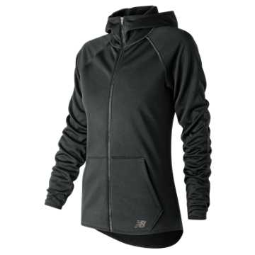 New Balance NB CoreFleece Full Zip, Black