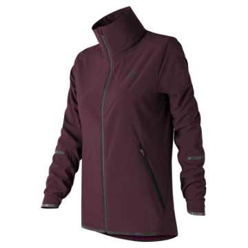 New Balance Precision Run 3 In 1 Jacket, Black Rose