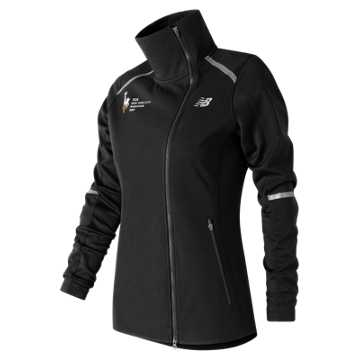 New Balance NYC Marathon Windblocker Jacket, Black