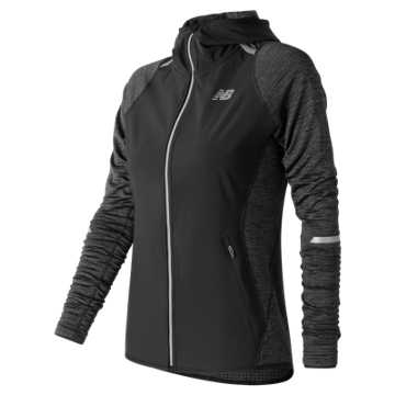 New Balance NB Heat Run Jacket, Black
