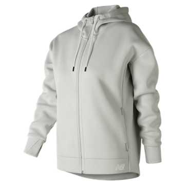 New Balance 247 Sport Full Zip Hoodie, Arctic Fox