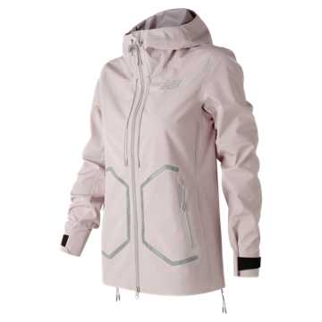 New Balance 247 Luxe 3 Layer Jacket, Faded Rose