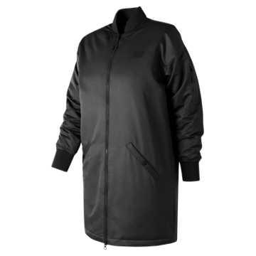 New Balance 247 Luxe MA1 Flight Jacket, Black