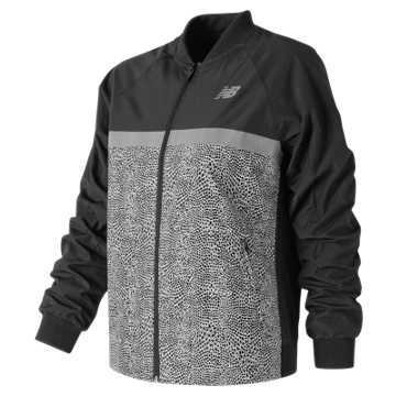 New Balance NB Athletics 78 Jacket, Black Multi
