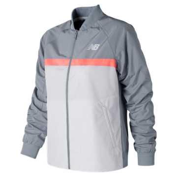 New Balance NB Athletics 78 Jacket, Light Grey