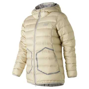 New Balance 247 Luxe Down Jacket, Angora