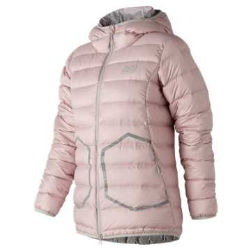New Balance 247 Luxe Down Jacket, Faded Rose