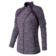 New Balance Anticipate Jacket, Elderberry Heather