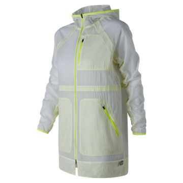 New Balance Determination Jacket, White
