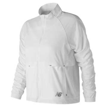 New Balance Determination Breathe Jacket, White
