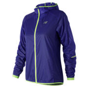 New Balance Ultralight Packable Jacket, Blue Iris