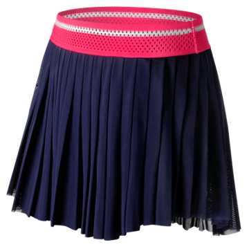 New Balance Heath Skort, Alpha Pink with Navy