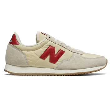 New Balance 220 New Balance, Turtle Dove with Chili Pepper