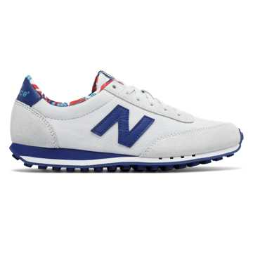 New Balance 410 New Balance, White with Atlantic