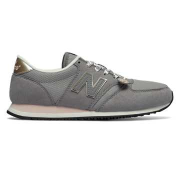 New Balance 420 Panda, Grey with Pink