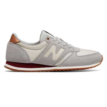 New Balance 420 New Balance, Silver Mink with Artic Fox