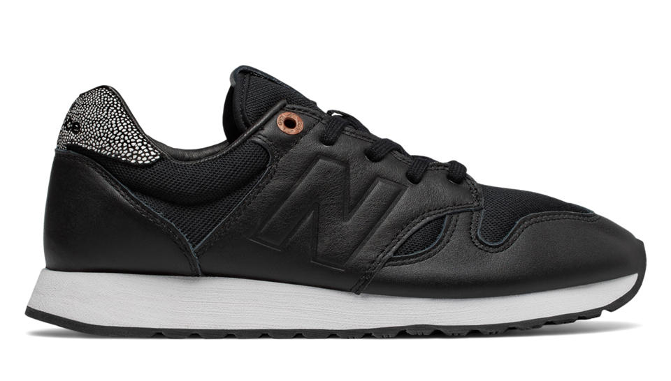 New Balance 520 NB Grey, Black with Copper Metallic