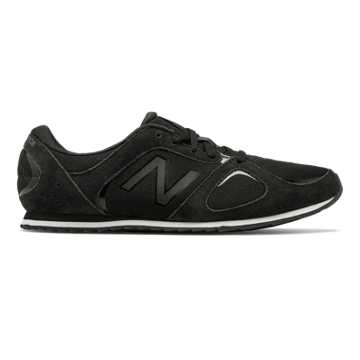 New Balance 555 New Balance, Black with Thunder