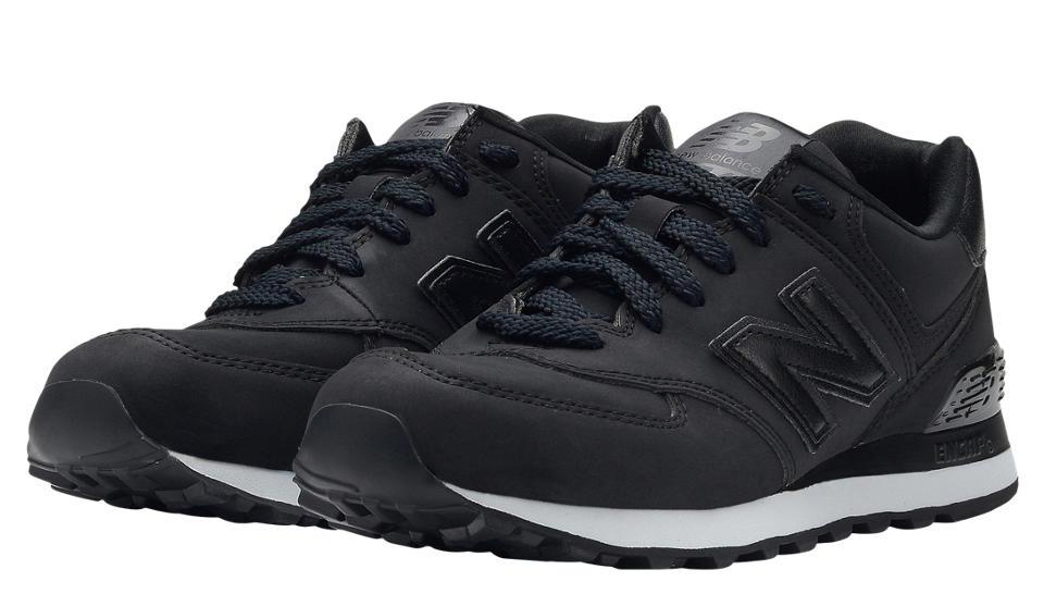 new balance ml574 black