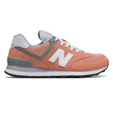 New Balance 574 Core Plus, Sahara Sunset with Grey