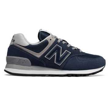 New Balance 574, Navy with White