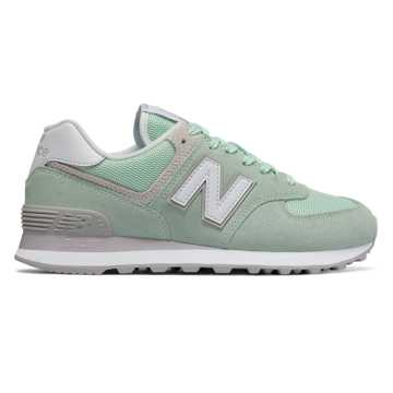 New Balance Classics WL574v1 Womens Seafoam/Summer Green J953092LP Shoes