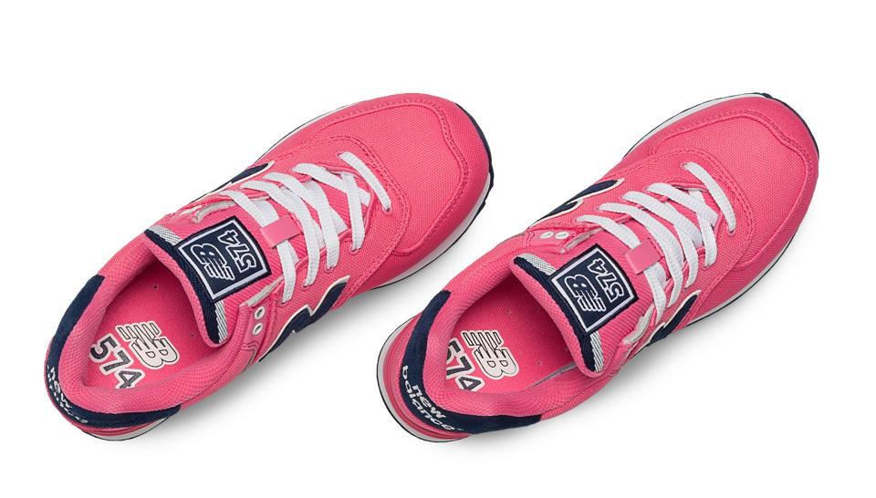 new balance 574 pique polo pink