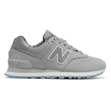 New Balance 574 Luxe Rep, Silver Mink