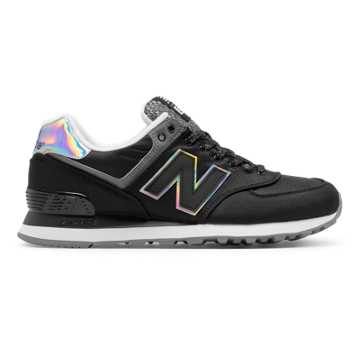 New Balance 574 Outdoor Festival, Black with Gunmetal