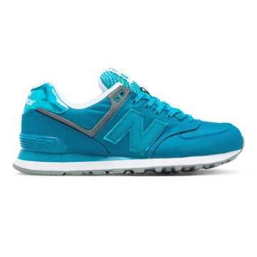 New Balance 574 Outdoor Festival, Vivid Ozone Blue with Gunmetal