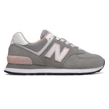 New Balance 574系列女款复古休闲运动鞋 经典复古, 深灰