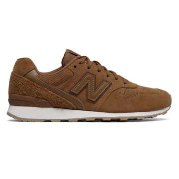 New Balance 696 Folk Festival, Cinnamon with Tempo Red