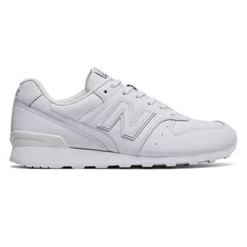 New Balance Leather 696, White