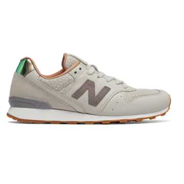 New Balance 696 NB Grey, Powder with Cresent