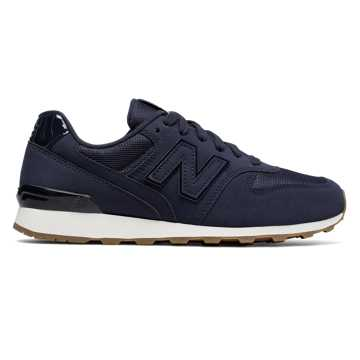New Balance Nubuck 696, Moroccan Blue with Sea Salt