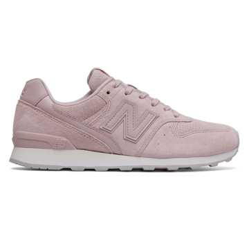 New Balance 696 Suede, Faded Rose with Pink Sandstone