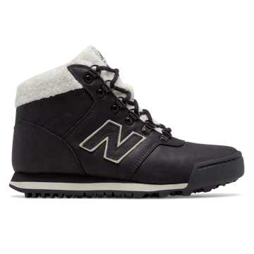 New Balance 701, Black with Bone