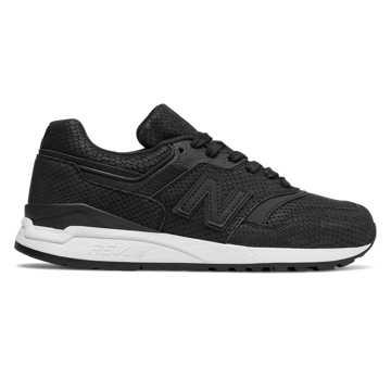 New Balance 997复古鞋 女款 轻量舒适 经典休闲, 黑色