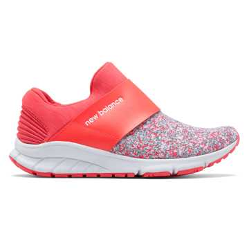 New Balance Rush Slip-On, Bright Cherry with White