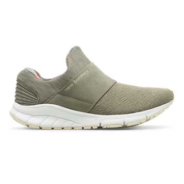 New Balance Rush Slip-On, Military Urban Grey with Multi Color